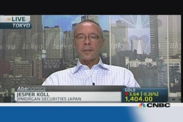 Japan economic recovery is broadening