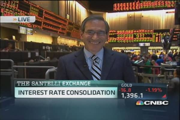 Santelli eyes interest rate consolidation