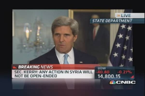 Sec. John Kerry on Syria: 'Will not repeat Iraq'