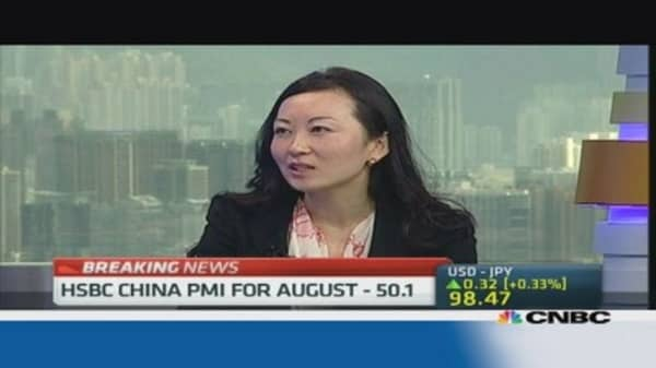 PMI data shows China as stabilizing factor