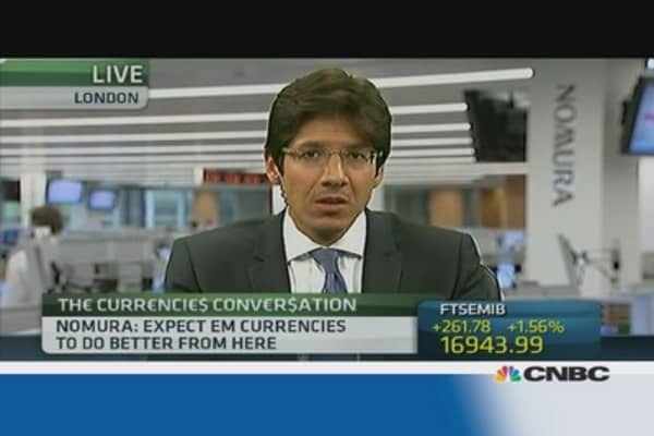 Why EM currencies are interesting