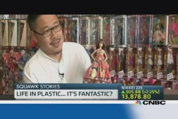 One Singaporean man's Barbie obsession