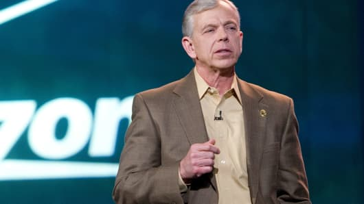 Verizon chairman and CEO Lowell C. McAdam
