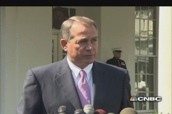 Boehner on Syria: I support the President