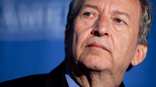 Larry Summers: 50 percent chance of a US recession by 2020