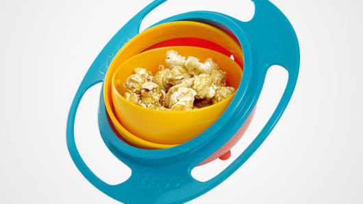 Loopa Gyroscopic Toddler Bowl