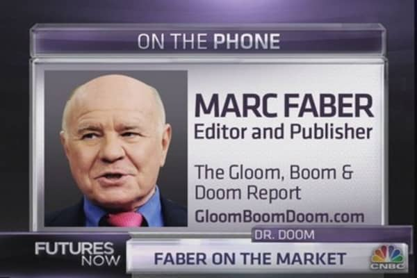 Marc Faber: Why a correction is coming soon