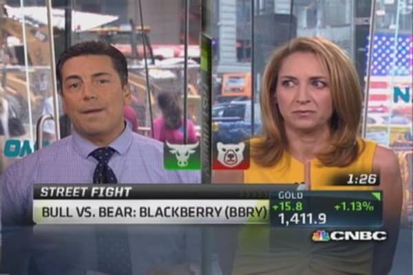 Debate It: Bull vs. bear on BlackBerry