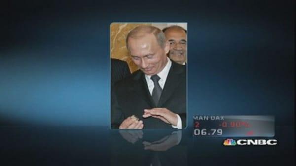 Putin & Robert Kraft's Super Bowl ring