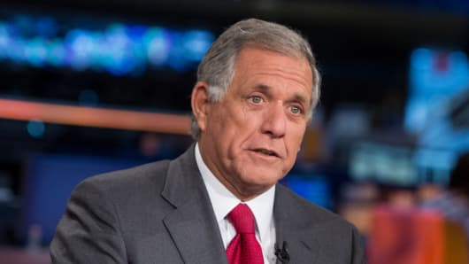 Les Moonves, president and chief executive officer of CBS