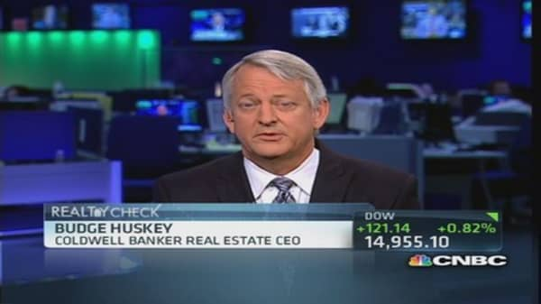 Seeing continued housing recovery: Huskey