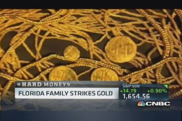 Florida family strikes gold