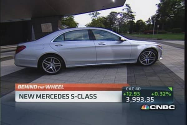 Mercedes S-Class upgrade