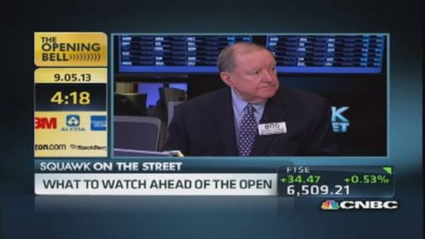 Before the open with Art Cashin