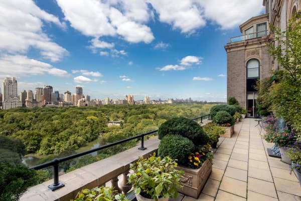 Perched high above Central Park, this mega-home has seven bedrooms, eight bathrooms, and three elevators, and has a price tag of nearly $100 million dollars.