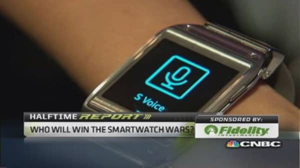 Who will win the smartwatch war?