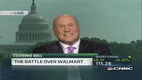 The battle over Wal-Mart