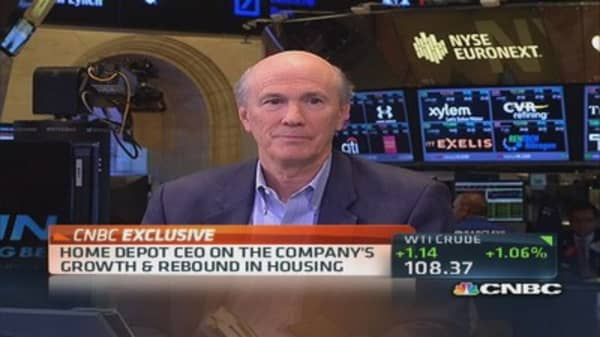 Home Depot CEO: 'Strongest Q2 in over 20 years'