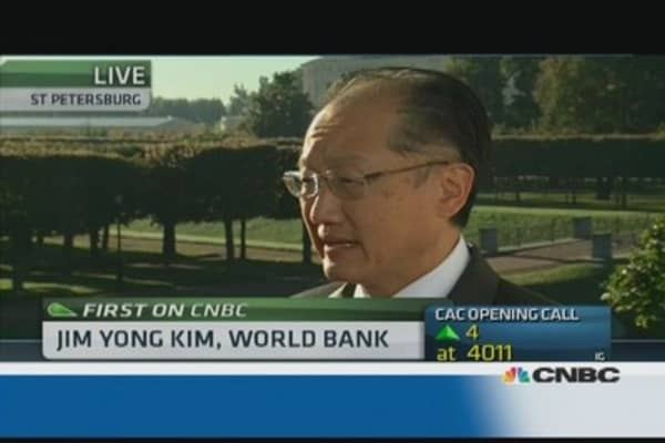 There were still areas of disagreement as we left the room: World Bank