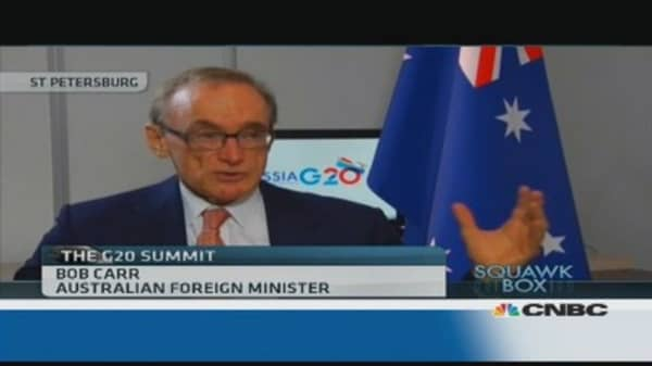 We support the US in Syria: Australian fin min