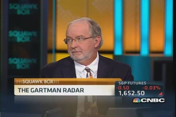 Talking taper timeline: Gartman