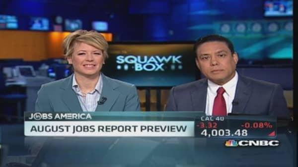 Jobs number: Good number, good news?