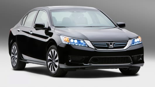 Honda Hits 50 Mpg That Is On New Accord Hybrid