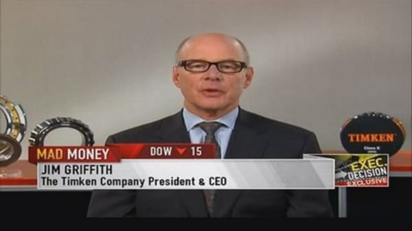Timken CEO: Steel & bearing businesses industry leaders
