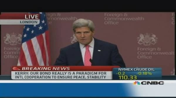 Kerry on Syria: 'There is no military solution'