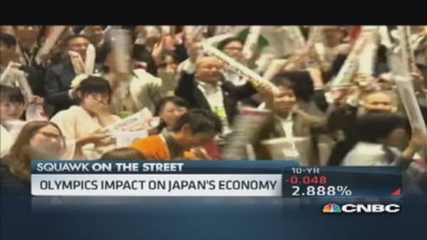 Japan's Olympic sized stimulus?
