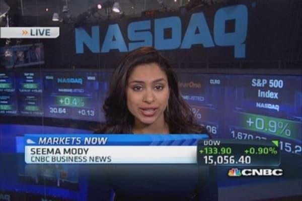 Tech stocks move Nasdaq higher