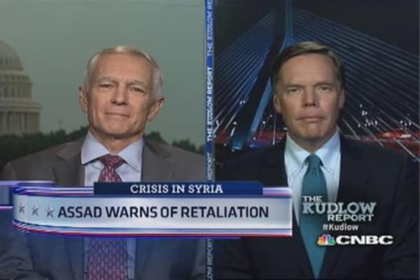 Asaad warns of retaliation