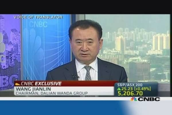 Expanding Dalian Wanda's global footprint
