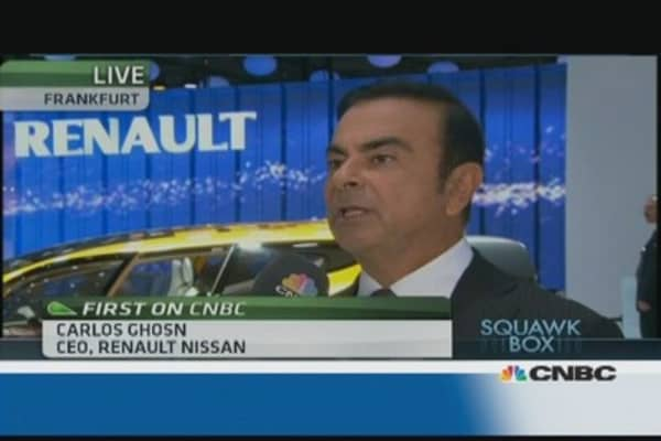 The race for electric cars is on: Renault Nissan CEO