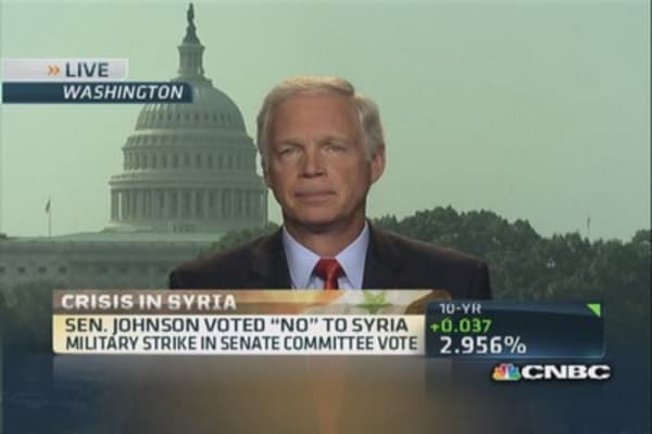 Senate vote on Syria delayed