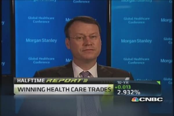 Winning health care trades