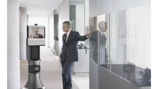 Office Robots No More Hiding From The Boss