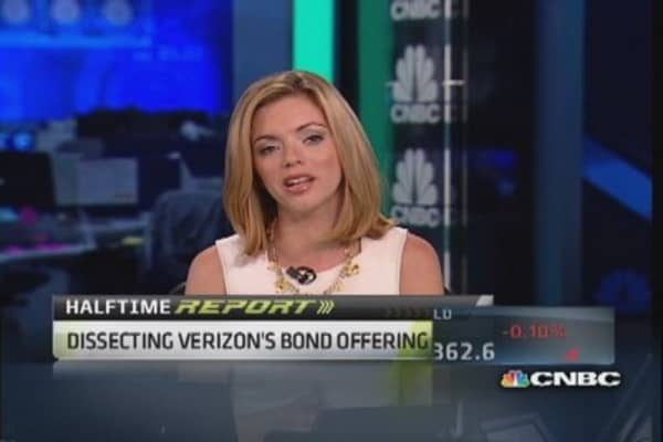 Verizon's mega bond offering