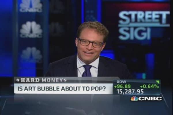 Art bubble about to burst?