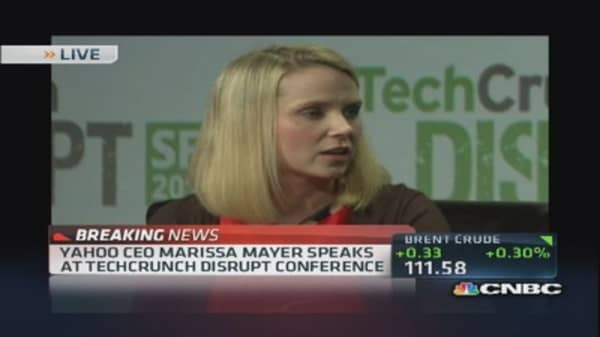 Bet on Marissa Mayer?