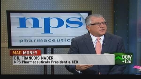NPS Pharma CEO: Do not need to raise cash