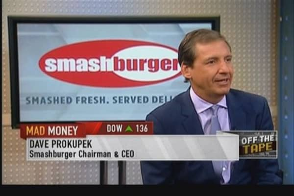Smashburger CEO: We're stealing share from McDonald's