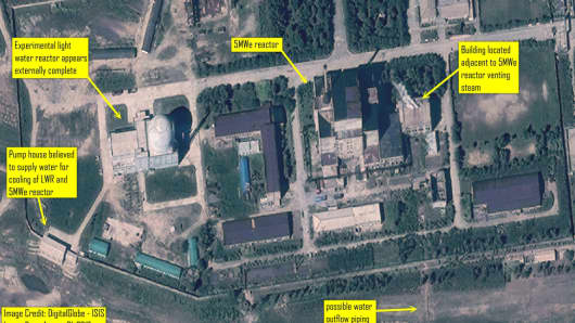 Yongbyon nuclear facility, North Korea: ISIS analysis of DigitalGlobe Imagery from August 31, 2013