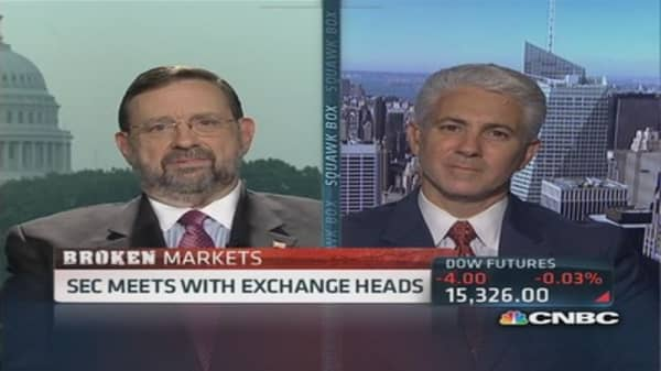 SEC reviewing exchange data feeds