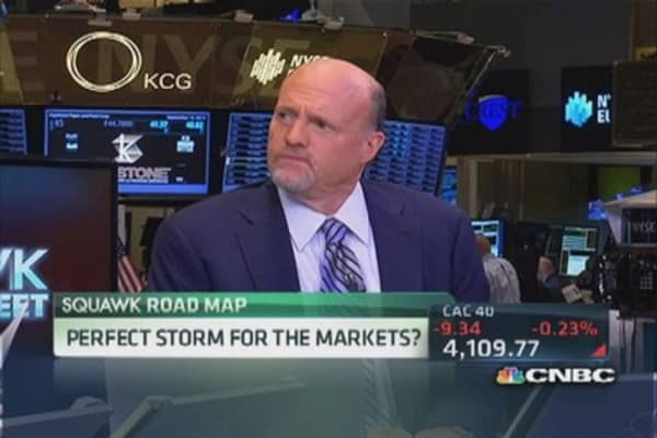 Cramer: Watch these 'anointed' stocks