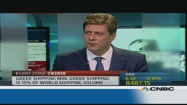 Greek shipping still going strong: Minister