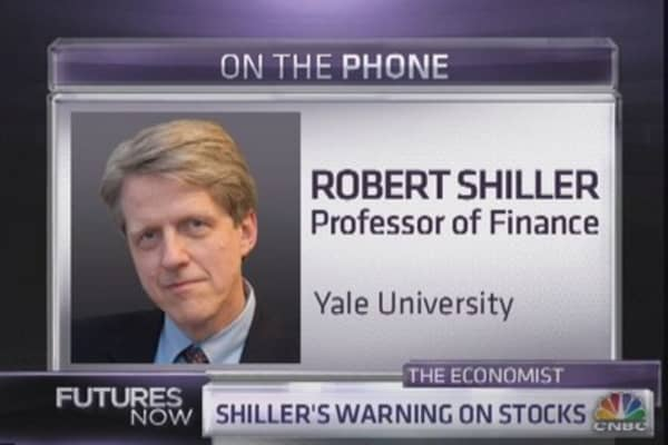 Shiller's warning on stocks