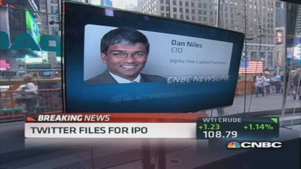At certain value, Twitter IPO 'not that interesting'