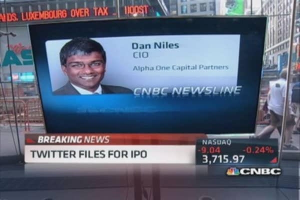 What a Twitter IPO means for the tech trade