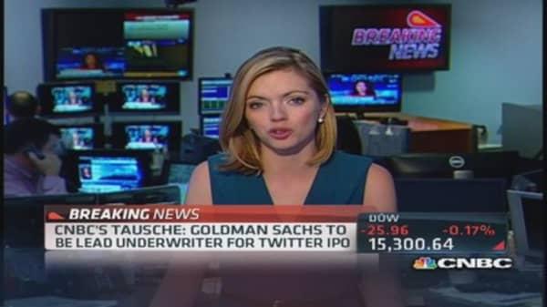 Goldman leading Twitter IPO?